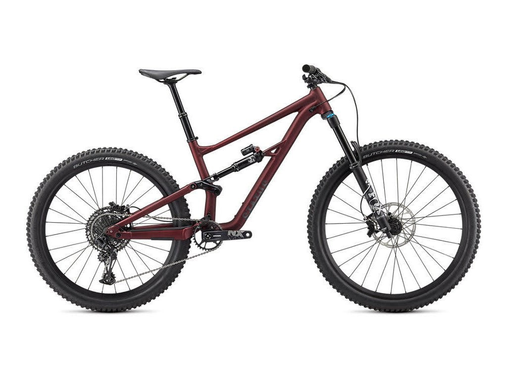 Horské kolo SPECIALIZED Status 160 Maroon/Charcoal 2021