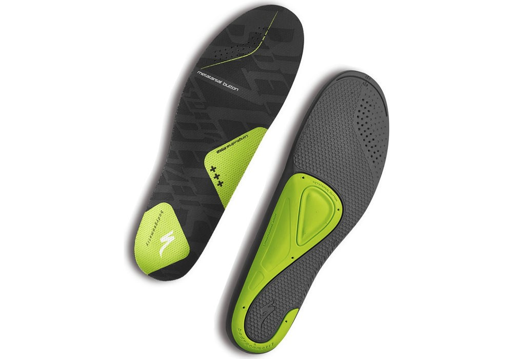 Vložky do bot SPECIALIZED BG SL Footbed +++ Green 44-45