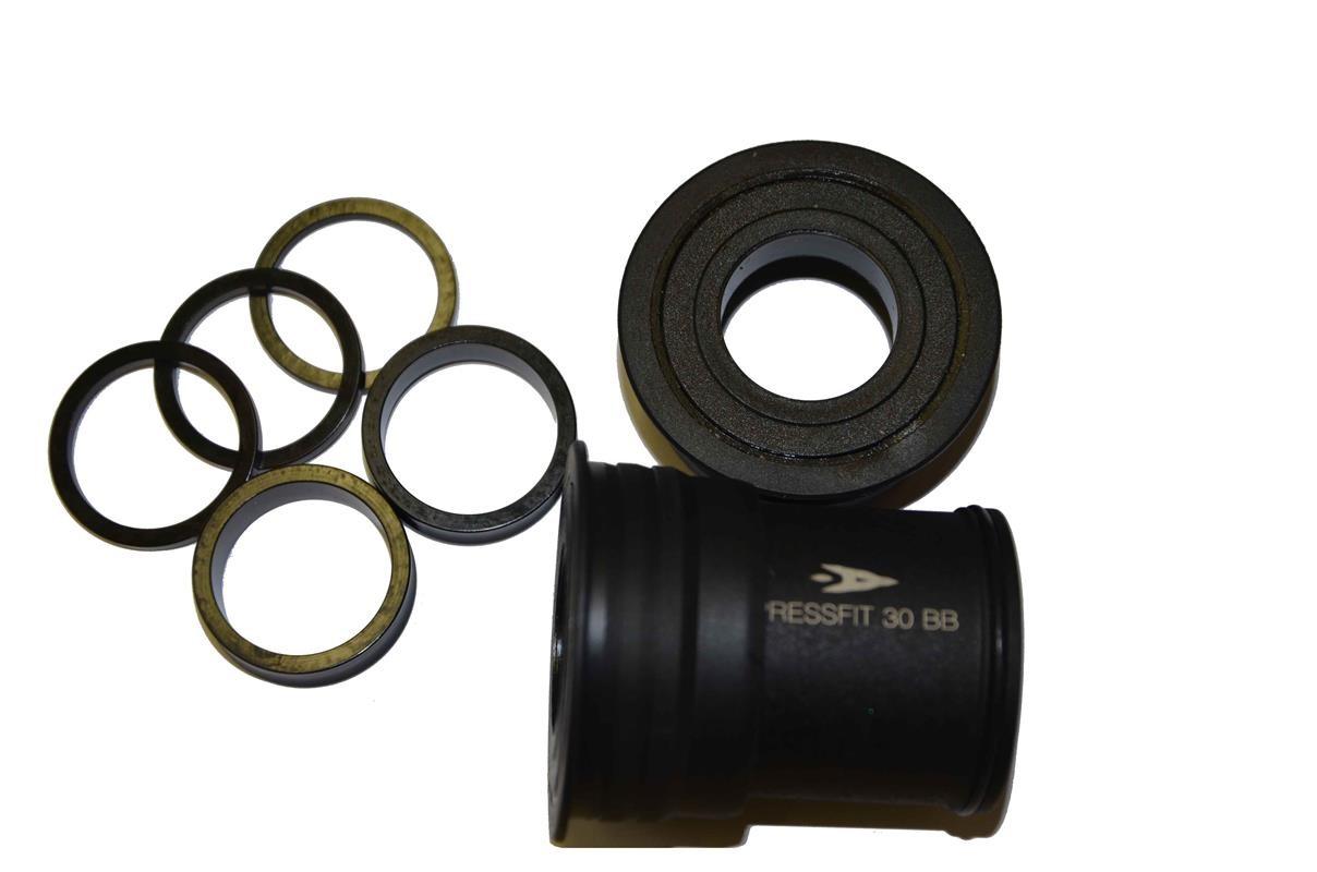 Středové složení AEROZINE BB30 Pressfit 46 mm pro 24 mm osu