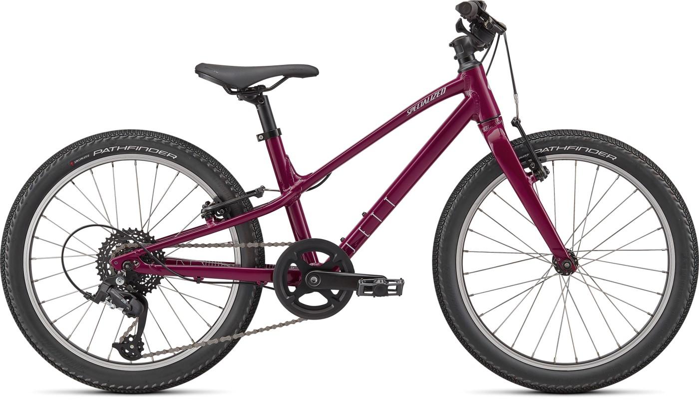 Dětské kolo SPECIALIZED Jett 20 Gloss Raspberry/UV Lilac 2022