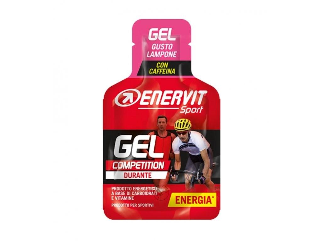 Gel ENERVIT Enervitene Sport Kofein 25 ml malina