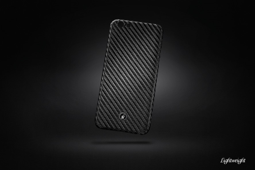 Karbonový kryt LIGHTWEIGHT Schutzschild pro mobil Samsung Galaxy S6