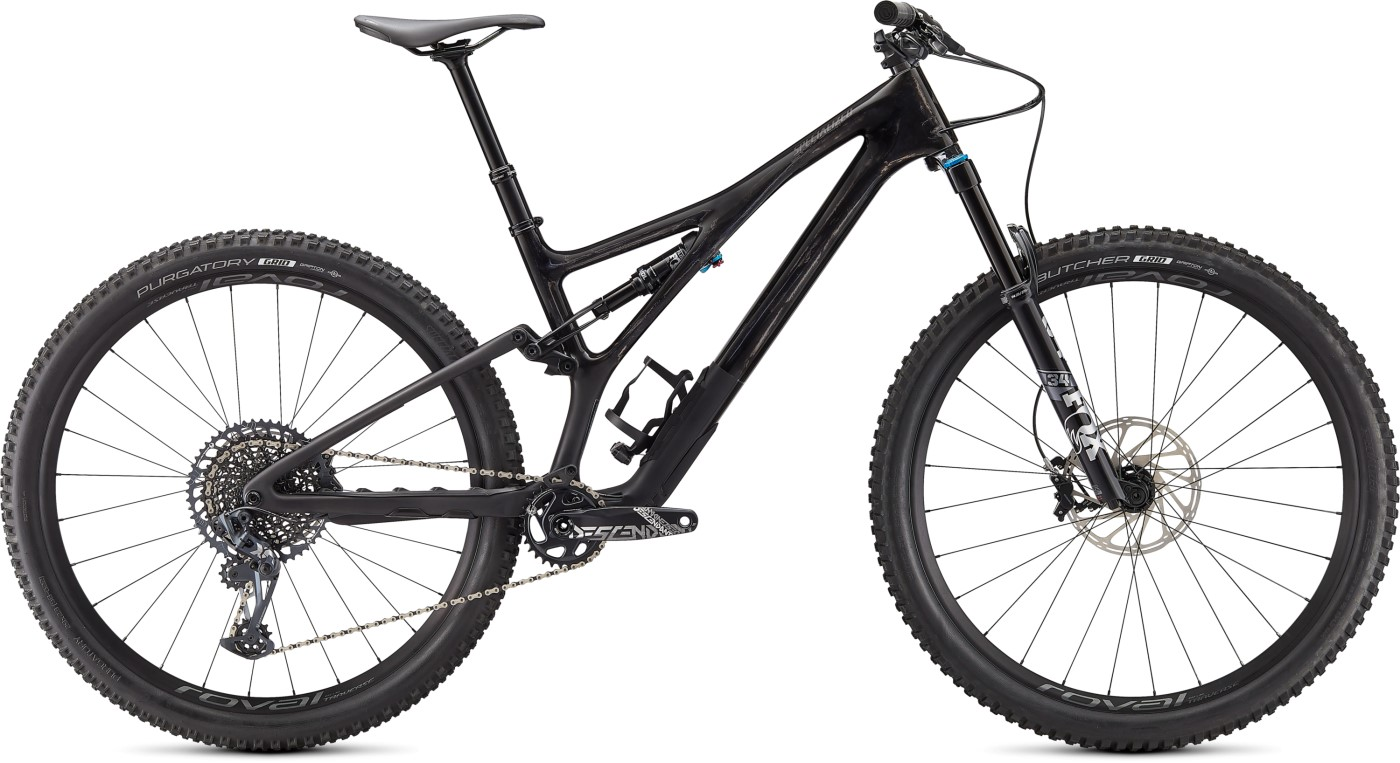 Horské kolo SPECIALIZED Stumpjumper Expert Gloss Satin Carbon/Smoke 2021