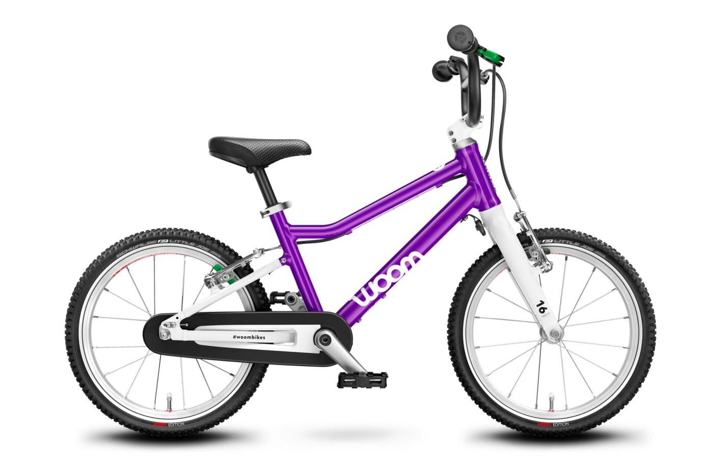 """Dětské kolo WOOM 3 2021 Purple haze 16"""""""