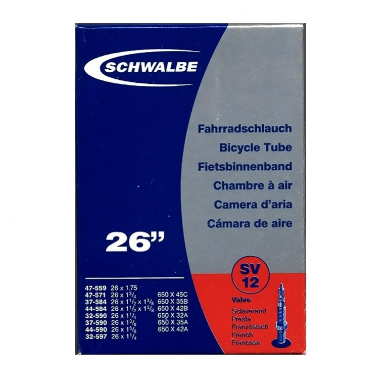 duše Schwalbe MTB  SV12 26x1,3-1,75