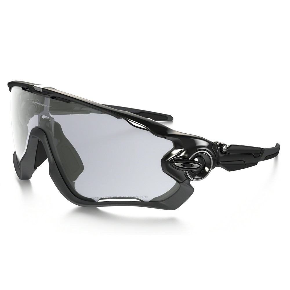 Brýle OAKLEY Jawbreaker Pokished  Black Claear/Black Iridium Photochromatic