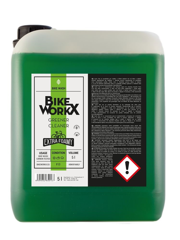 Čistič BIKEWORKX Cyklo Star 5 l